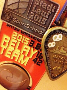 Medaille Challenge Roth 2015