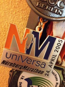 Medaille Nürnberg Marathon 2005